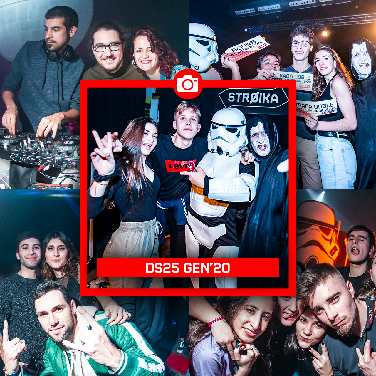 DS25 GEN'20 // STAR WARS PARTY