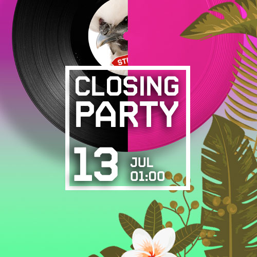CLOSING PARTY - MARXEM DE VACANCES